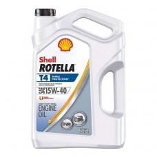 ACEITE SHELL ROTELLA T4 TRIPLE PROTECTION 15W-40 CK-4 MOTOR OIL 3/1 GALON