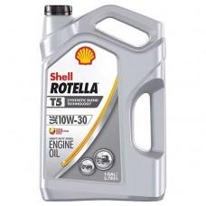 ACEITE SHELL ROTELLA T5 SEMI SINTETICO 10W-30 Ck-4 MOTOR OIL 3/1 GALON