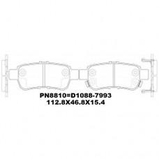 D1088-7993 TACOS HONDA ODYSSEY 2004-2010 3500CC J35A J35A6 2005-2011 43022-SHJ-A00 D5192M DB1721 PN8810 112.8*46.8*15.4