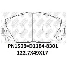 D1184-8301 TACOS TOYOTA YARIS ADVANCE NCP95 05-ON HN-508 AN714K AD1 D1184-8538 123X48X17.5 04465-52260 PN1508