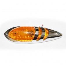 LAMPARA CAPOT TECHO LED AMBER 12V-24V HY-088F-1 LED
