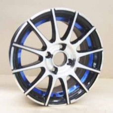 RIN 15 BLACK MACHINE FACE 15X6.0 ET38 4X114.3 CB67.1
