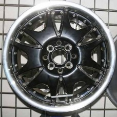 RIN 16 BLACK MACHINE LIP 16X7.0 ET42 4X100 4X114.3 CB73.1