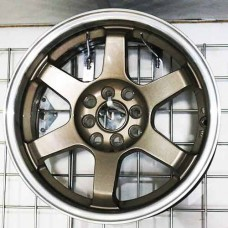 RIN 16 BRONZE MACHINE LIP 16X7.0 ET38 4X100 4X114.3 CB67.1