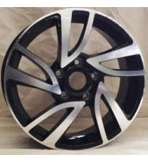 RIN 16 SILVER MACHINE FACE 16X6.5 ET40 5X114.3 CB73.1
